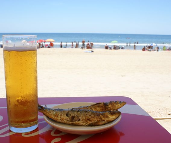 Chiringuito El Madrileño En La Antilla Lepe Sardines Andalucia Spanish Food