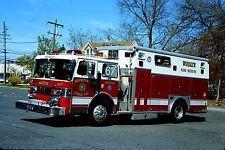 Woodlyn, PA FD Rescue 67 - 1985 Duplex/Saulsbury Heavy Rescue Squad.