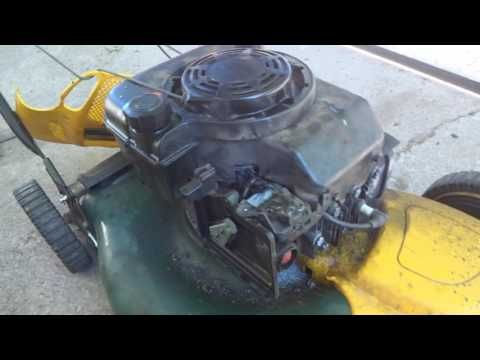 Lawn Mower RPM Adjustment - Briggs and Stratton engine