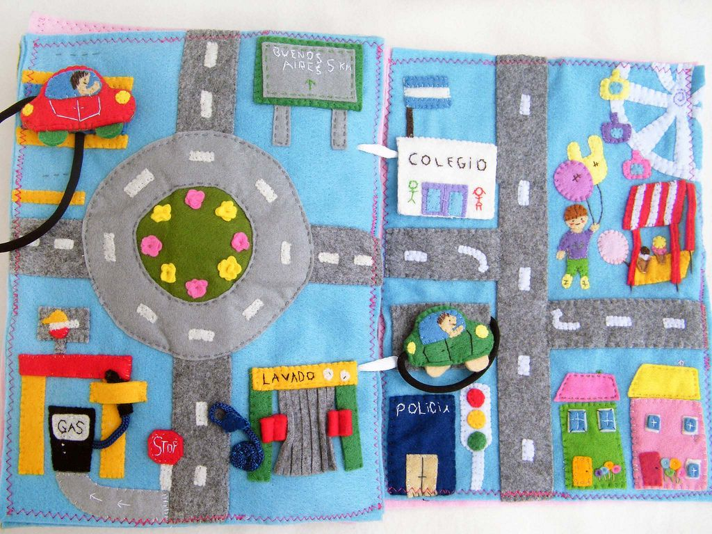 Quiet Book Page 7 8 Sewing For Babies Quiet Book