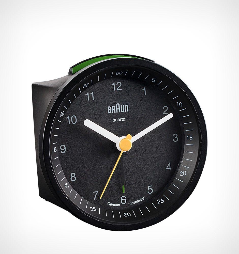 Braun Travel Alarm Clock Round Matte Black Rushfaster Com Au Australia 64 95 Travel Alarm Clock Alarm Clock Clock