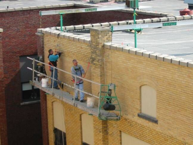 They Are Used For Window Cleaning Or Conducting Repairs To The Exterior Of Buildings And Consist