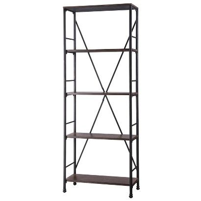 ThresholdTM Mixed Material 5 Shelf Bookcase