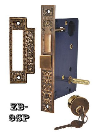 Recreated Entry Door Lock Windsor Pattern Zb 9sp Entry Door Locks Entry Doors Doors