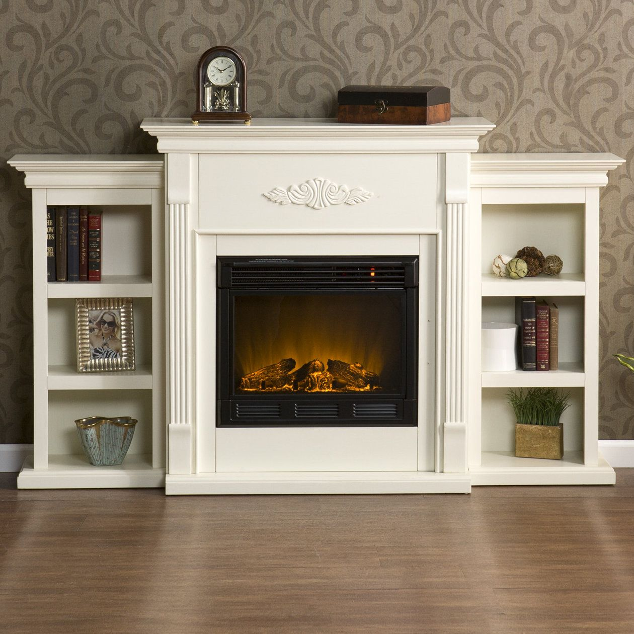 Home Depot Foyer Electrique Blanc : Lena electric fireplace home ideas and inspirations