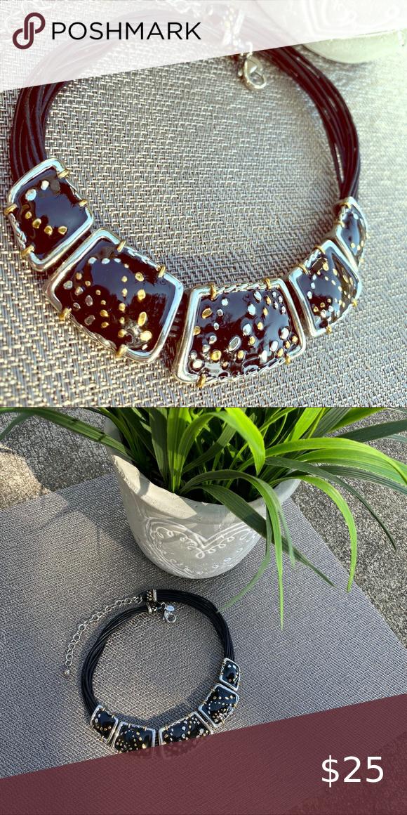 Chico's Necklace Chico's Necklace Adjustable black