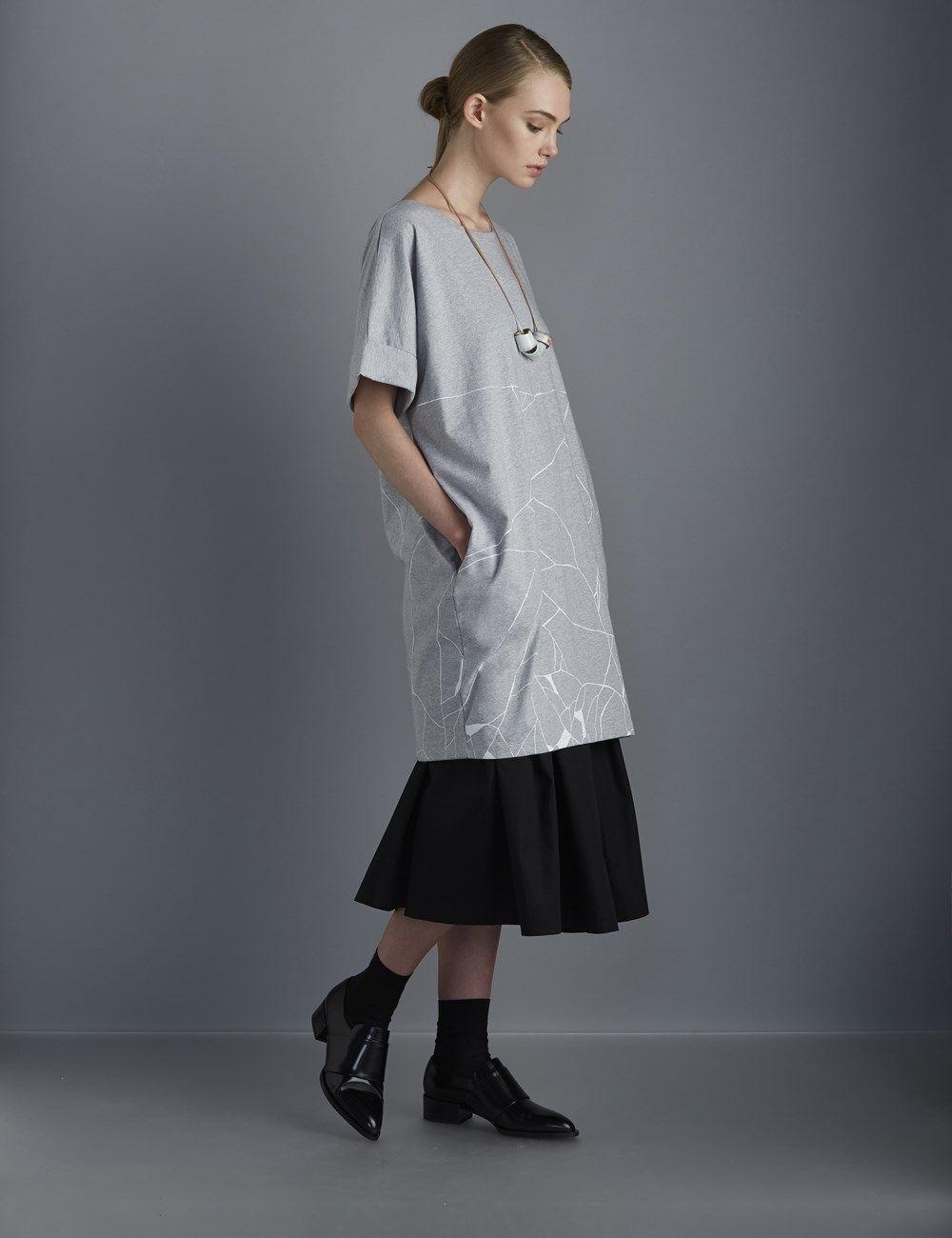 Kitsungi Organic Cotton Dress by Kowtow | Gather&See