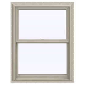 Jeld Wen V 2500 Vinyl Double Pane Annealed Double Hung Window