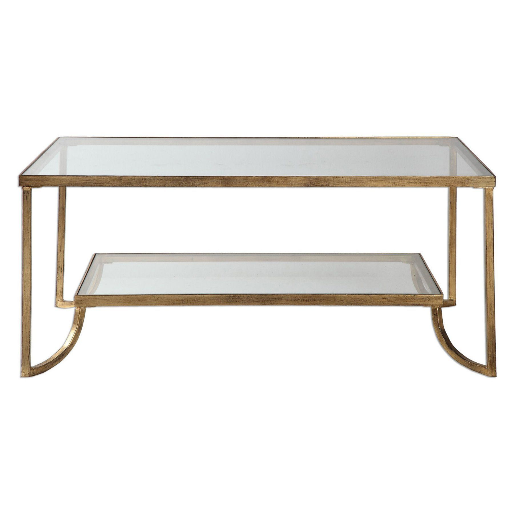 Uttermost Katina Coffee Table Coffee Table Gold Coffee Table