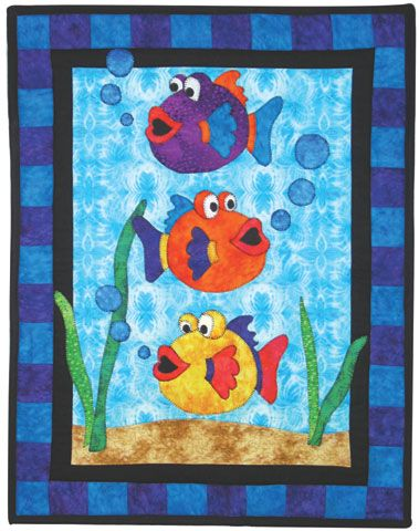 Fish Quilt Google Search Fish Quilt Baby Quilts Fish