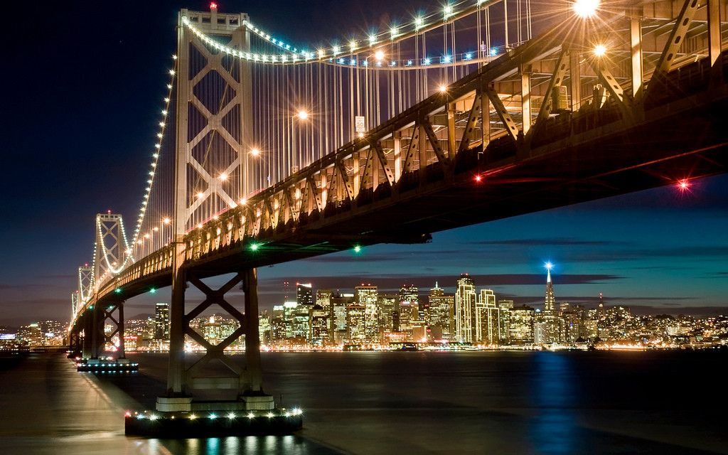 Oakland Bay Bridge, San Francisco, USA