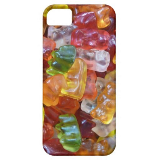 Gummy Bears Background iPhone 5 Covers