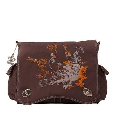 Look at this #zulilyfind! Chocolate Sam Diaper Bag Set #zulilyfinds