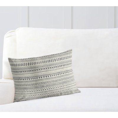 Mistana Minerva Lumbar Pillow Size 12 X 16 Color Tan Gray Pillows Lumbar Pillow Throw Pillows