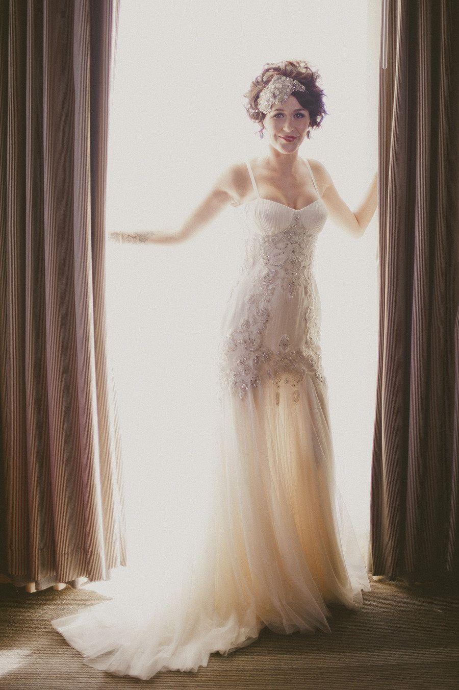 Wedding dress sacramento  Sacramento Wedding at The Citizen Hotel by Kate Whelan Events