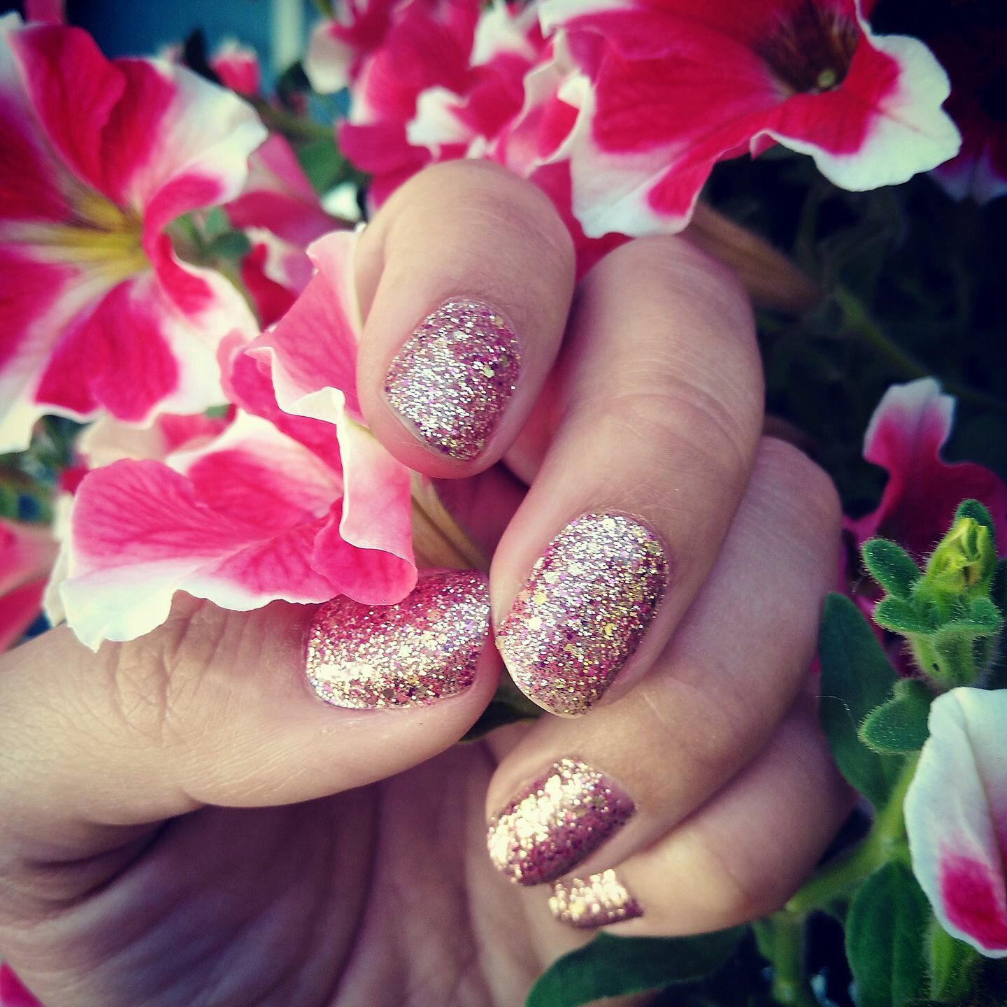 Tokyo lights glitter nail polish strips from Color Street. Easy to ...
