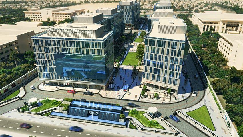 Sheikhzaedrealestate عقارات الشيخ زايد مجمع كابيتال بيزنس بارك بالشيخ زايد Capital Business Park Sheikh Zayed City Sheikh Zayed City Business Parking City