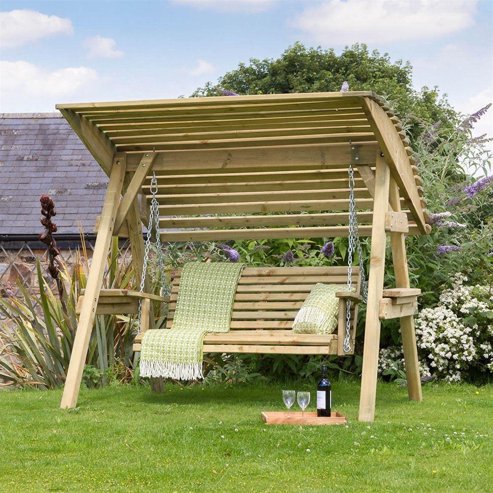 Zest leisure miami two seat garden swing seat garden pinterest