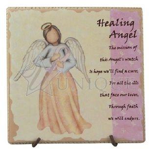 Healing Angel Ceramic Tile