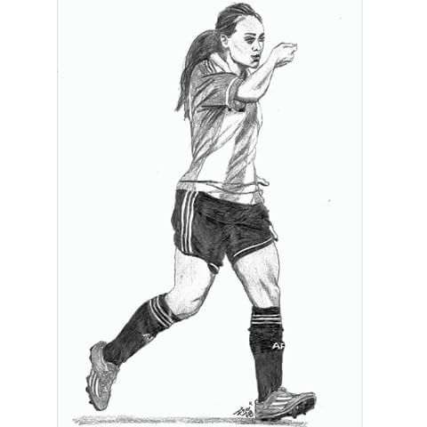 Resultado De Imagen Para Futbol Femenino Dibujos Soccer