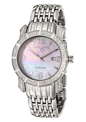 SWISS LEGEND Ladies Diamond Bracelet Watch