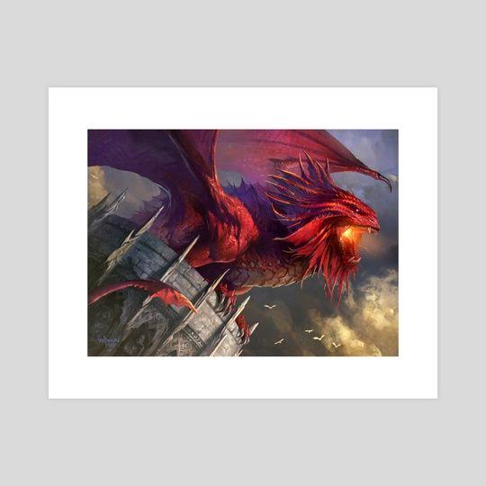 #mtg #magicthegathering #magicart #boardgame #game #magical #illustraion #wizards #hasbro #INPRNT #illustration #print #poster #art