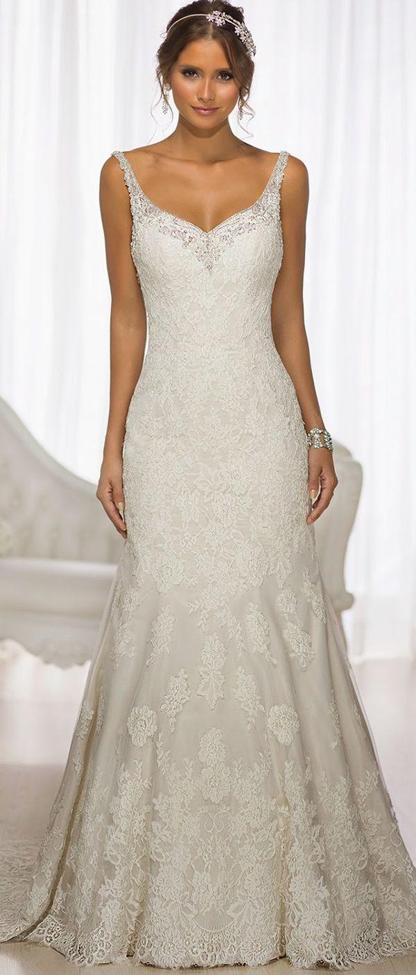 vestido de novia, bridal dress | My wedding dress | Pinterest ...