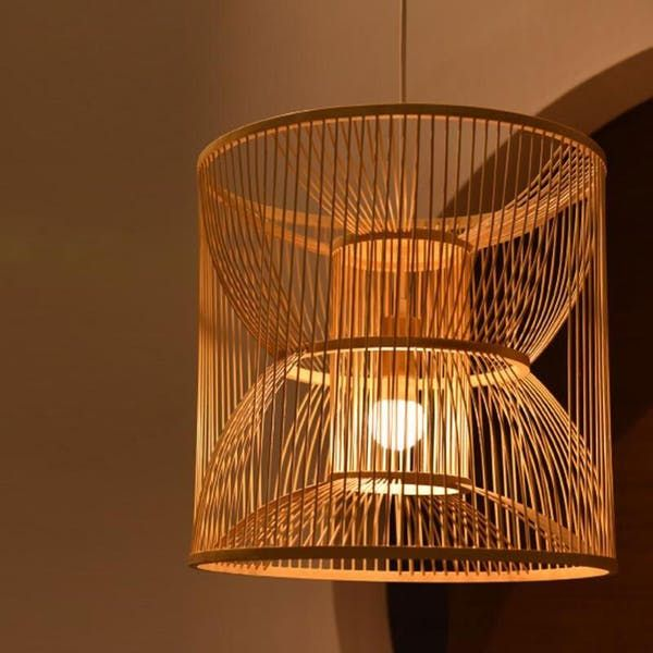 Bamboo Rattan Lamps Lighting Chandeliers </div>                                   </div> </div>       </div>         <div style=