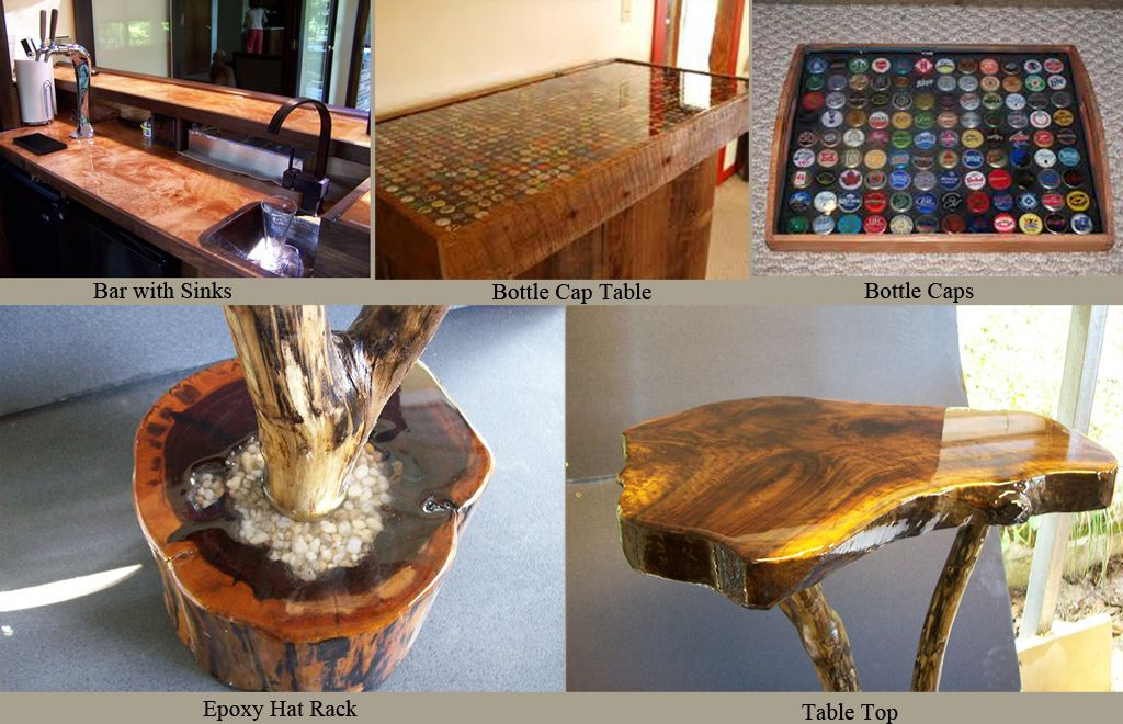 Bar And Table Top Epoxy Resin    Commercial Grade