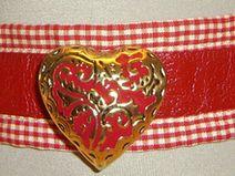 Trachten Leder Halsband 1-292