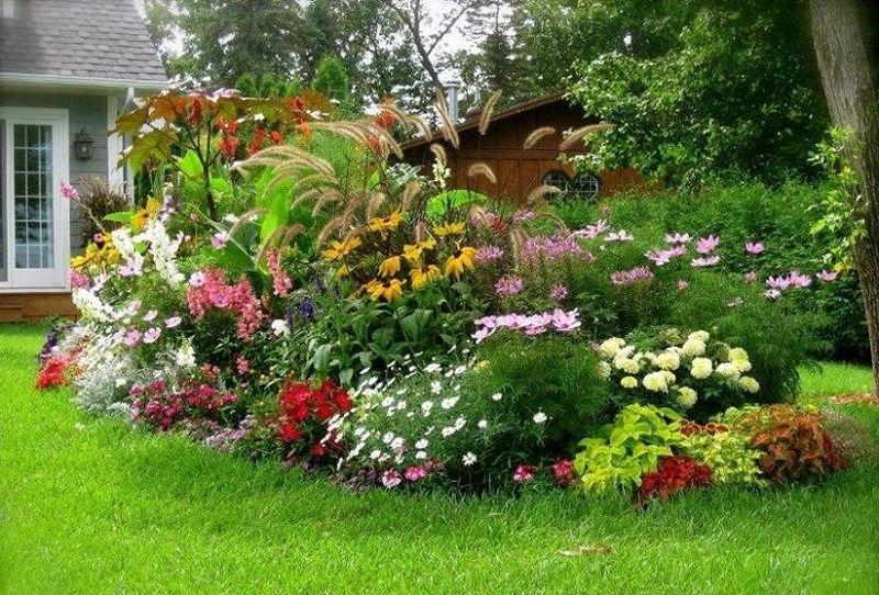 jardines con alma Diseño jardines colores calidos jardines - diseo de jardines urbanos