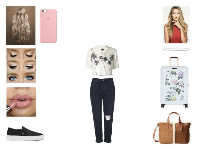 """Frankie - Staying at Harry's"" by annie-stylesx ❤ liked on Polyvore featuring Topshop, rag & bone, Vans, UGG Australia and Ted Baker"