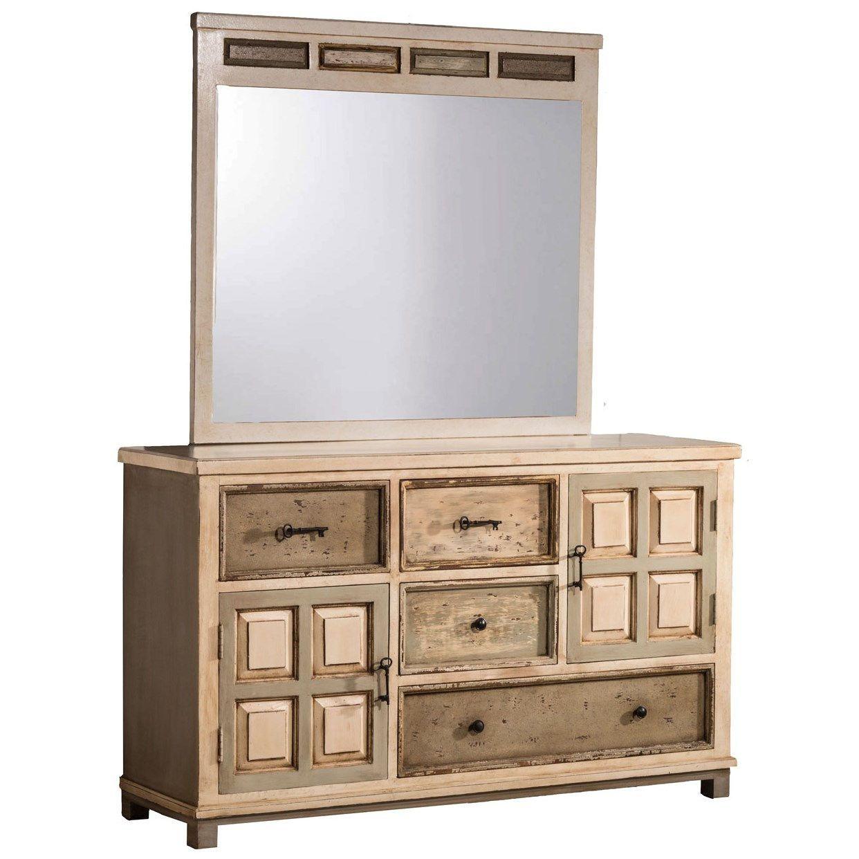 Hillsdale Furniture 1969DM LaRose Dresser And Mirror In