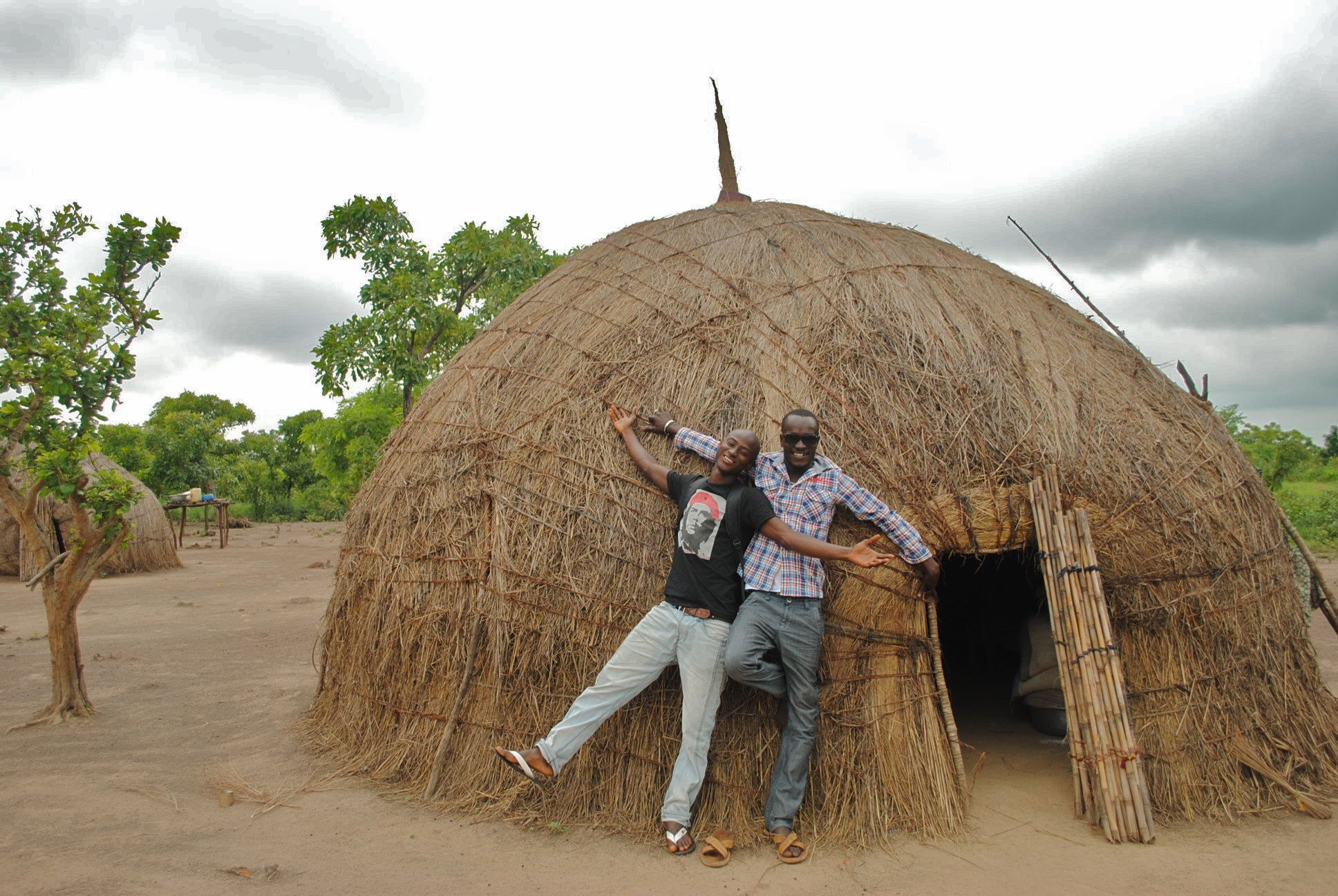 Woven Fulani House In Kpalbusi Village, Northern Ghana