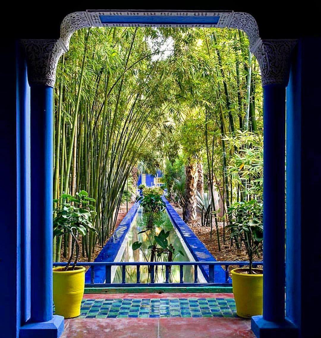 Botanicaetcetera Jardin Majorelle Ysl S Marrakech Garden With The