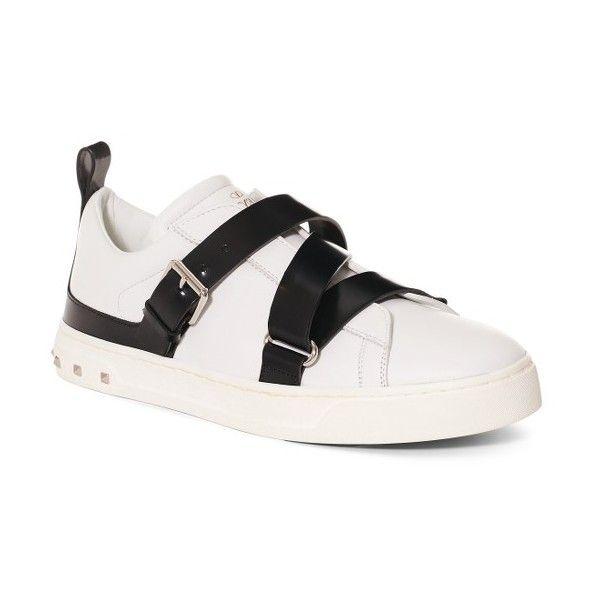 Valentino Rockstud Strappy Sneaker