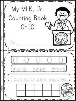Martin Luther King, Jr. Interactive Counting Books