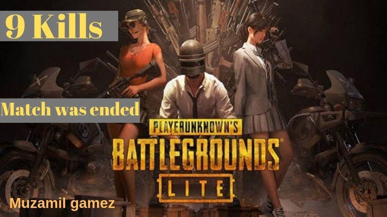 9 Kills In Pubg Lite Gameplay Pc System Lite Andriod