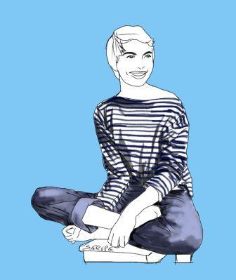 mode klassiker ringel shirt ein basic f r ihre basisgarderobe pinterest modefl sterin mode. Black Bedroom Furniture Sets. Home Design Ideas