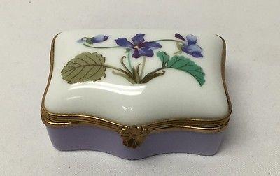 Haviland Limoges France Small Porcelain Box Limoges Boxes Limoges Box