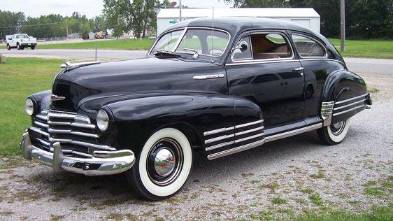 1947 chevrolet fleetline aerosedan 1940 39 s automobiles american pinterest chevrolet and cars. Black Bedroom Furniture Sets. Home Design Ideas