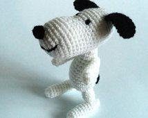 Snoopy Easy Amigurumi Pattern : Crochet toy pattern crochet snoopy pattern amigurumi snoopy