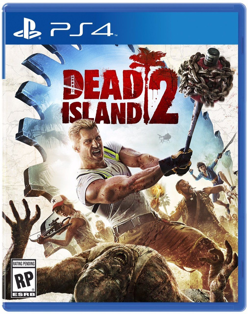 Dead Island 2 (Game Cover PS4) Xbox, Xbox one