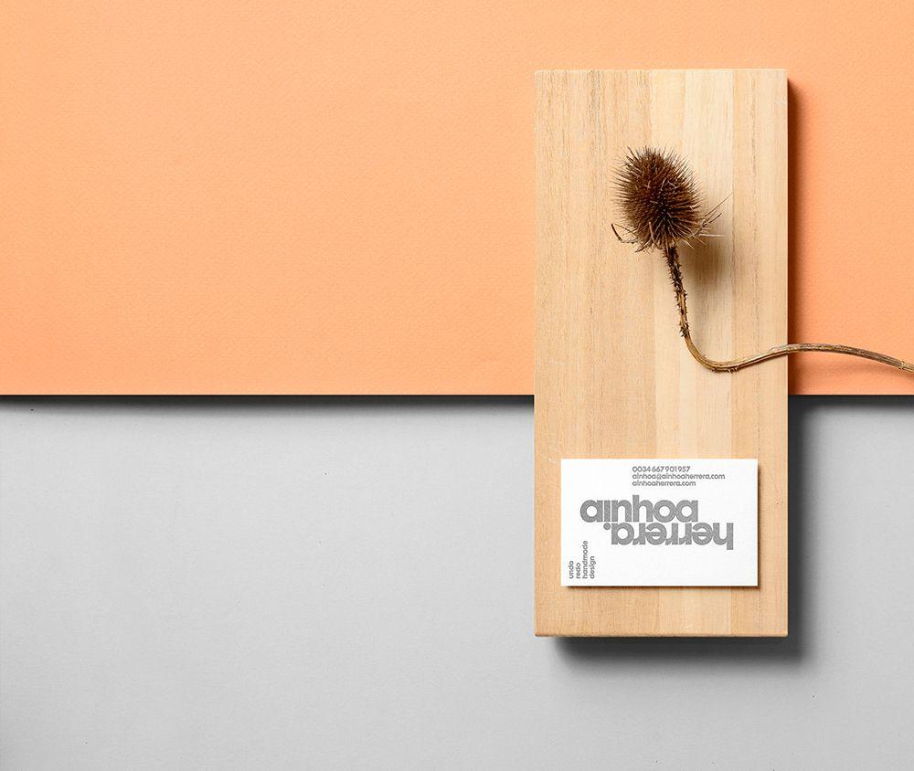 From IAMTHELAB.com: Branding & Packaging:  Ainhoa Herrera by Griselda Martí   #Textiles