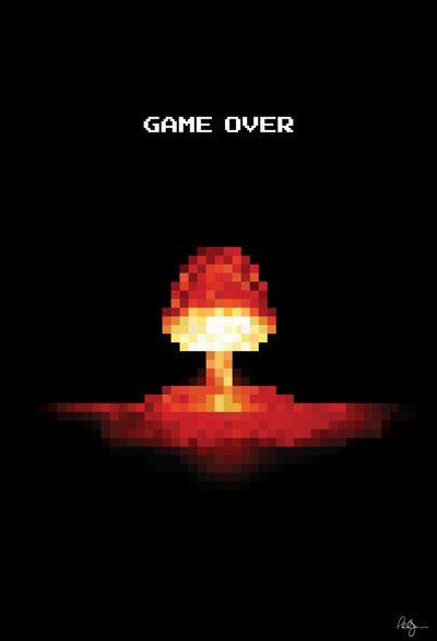 Game Over In 2019 Pixel Art Art Pixel Design