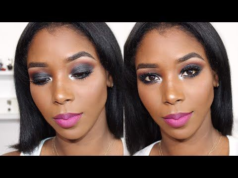 Maquillaje Para La Noche Maquillaje Para Piel Oscura Morena Negra Mary Pulido Youtube Maquillaje Para Piel Oscura Maquillaje Piel Morena Piel Oscura