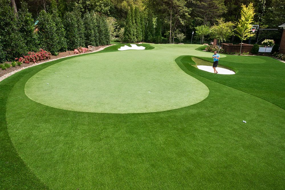 Showcase - Back Nine Greens (With images) | Backyard ...