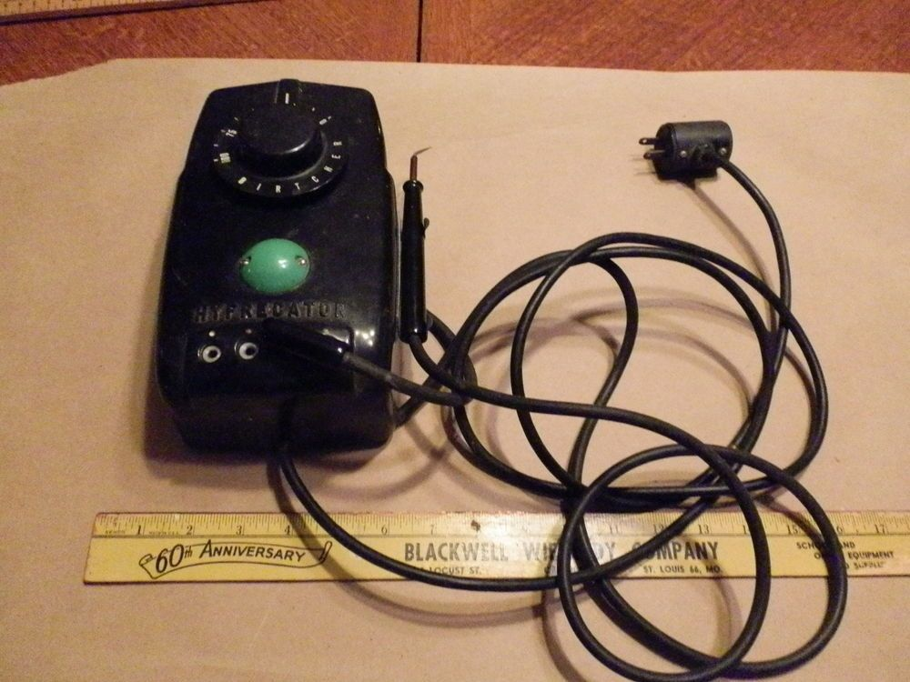 Vintage Bakelite Birtcher Hyfrecator Medical Instrument W