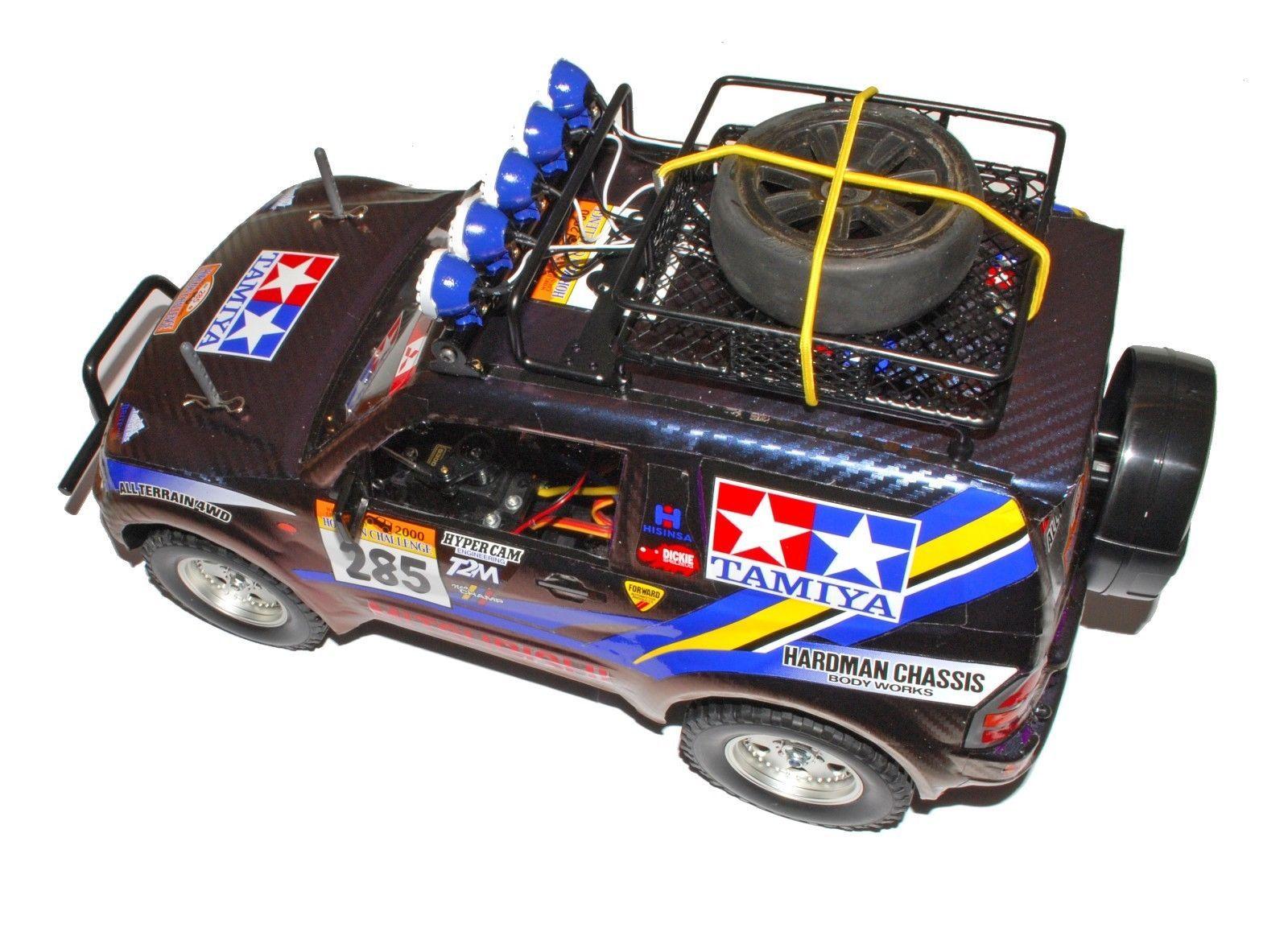 Tamiya CC-01 Mitsubishi Pajero 1/10 Electric 4WD Rc Car