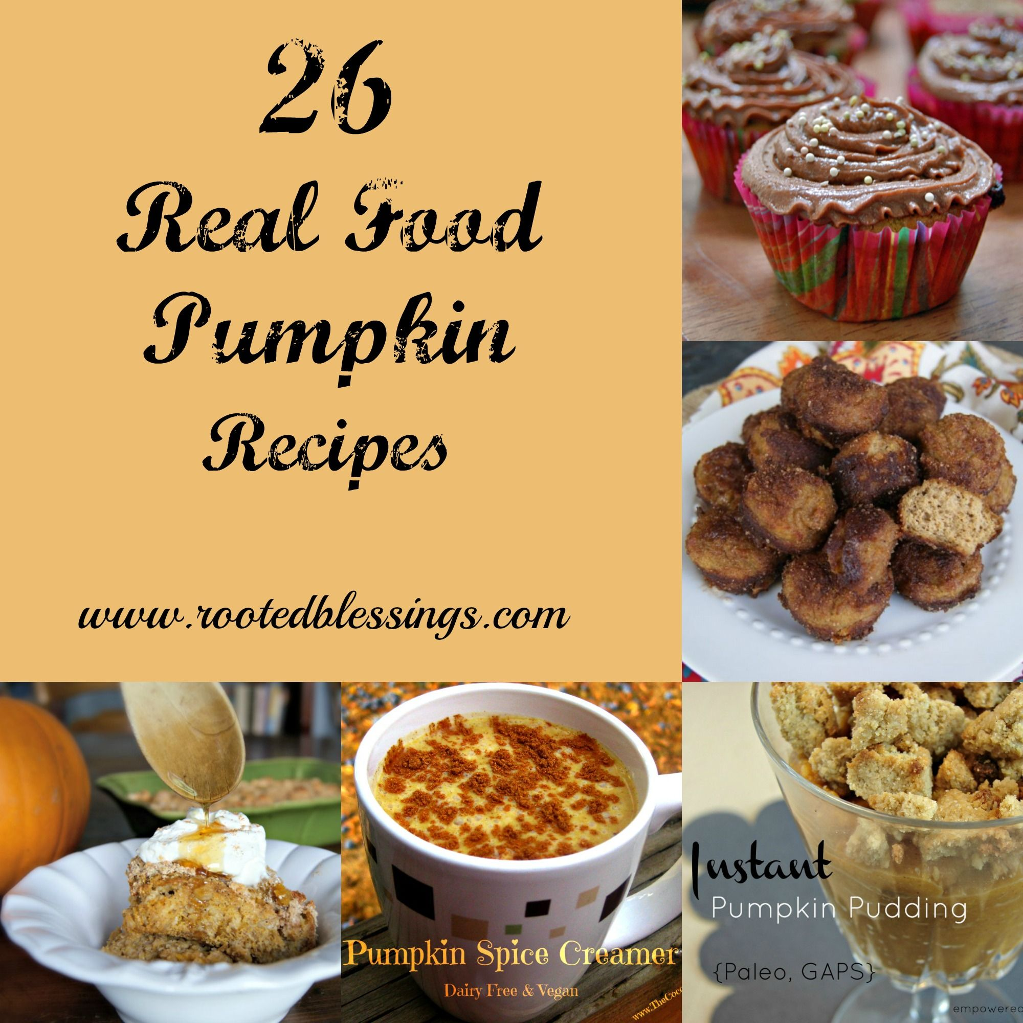 26 real food pumpkin recipes real foods foods and recipes 26 real food pumpkin recipes they look like good recipes but my browser isn forumfinder Gallery
